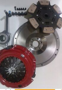 AUDI TT 1.8T TURBO QUATTRO 180 FLYWHEEL AND 6 PADDLE H'DUTY CLUTCH KIT WITH CSC