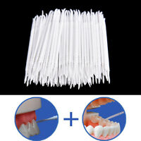 300x Clean Tooth Floss Head Hygiene Dental Plastic Interdental Brush Toothpick.