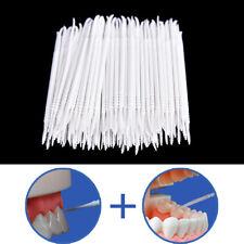 300pcs Reinigen Zahn Floss Kopf Hygiene Zahnmedizin Interdental Zahnstocher STDE