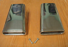 1955 1956 CHEVY POWER PAK EXHAUST EXTENSIONS STAINLESS STEEL  Pair