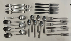 Lauffer Bedford 18/8 Stainless Flatware 27 Assorted Pieces Don Wallace