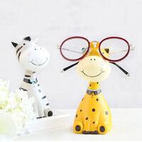 Harz Giraffe Brillenhalter Desktop Dekorative Cartoon Brille Ständer Geschenk