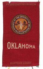 1910s S25 tobacco / cigarette / college silk University of Oklahoma