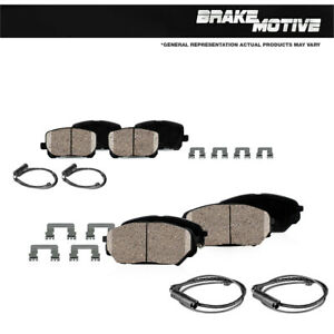 Front And Rear Ceramic Brakes For 2011 - 2015 2016 2017 2018 Audi A8 Quattro