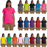 Gildan Ladies Ultra Cotton T Shirt Womens Tee XS - 3XL All Colors 2000L