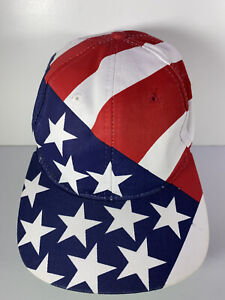 Vintage 1996 Olympic Games Atlanta Hat United States With American Flag Graphic