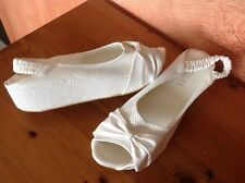 Chaussures compensées blanches t40