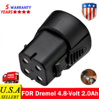 For Dremel 4.8Volt 2.0A MultiPro 750-02 MiniMite 7300 Rotary Tool 755-01 Battery