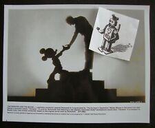 FANTASIA Mickey Stokowski Publicity Photograph Walt Disney 8x10 Glossy ReRelease