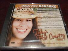 SINGER'S DREAM KARAOKE DISC SDK 9057 TODAYS HOT COUNTRY FEMALE CD+G MULTIPLEX