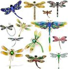 Vintage Big Dragonfly Brooches Insect Women Men Brooch Fashion Gift Jewelry Pins