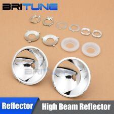 Z9 High Beam Reflector For H4 H7 Car Headlight Retrofit DIY Use H1 xenon bulbs