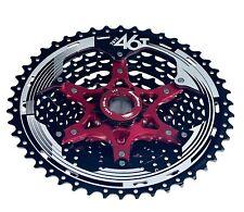 Sunrace MX8 Mega Wide Range 11-46T  DH/FR/XC Bike Cassette Black NIB