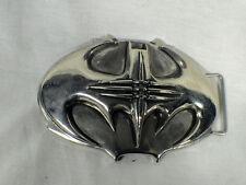 Batman Forever, Traditional Type Metal Bat Buckle, Silver