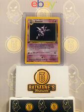 Haunter 6/62 1st Edition NM Near Mint Fossil Set Holofoil Rare Holo Pokemon Card