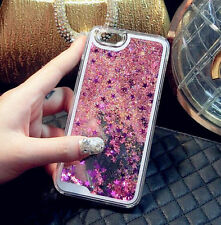 Bling Quicksand Glitter Stars Phone Case Cover For iPhone X 4/5/5c/6/6s/7/8 Plus