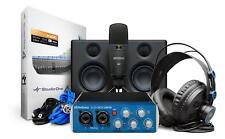 PreSonus Audiobox96 Studio Ultimate Bundle Software Mikrofon Kopfhörer Monitor