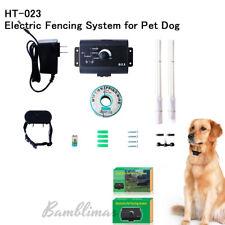 023 Underground Electric Fence System Pet Control Dog Training Shock Collars 023