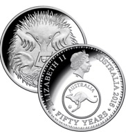 2016 Australia Five 5 Cent Coin - Celebrating 50 Years - Ex Ram Roll