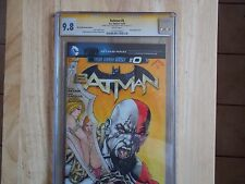 BATMAN #0 OF THE NEW 52 SS CGC 9.8! SPECIAL ART AND SIG NESTOR CELARIO JR !
