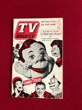 """1952, Howdy Doody, """"TV DIGEST"""" (No Label)  RARE"""