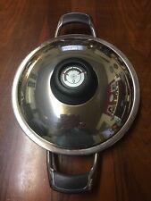 AMC Griddle 24 cm mit Thermostatdeckel für Induktion