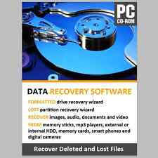 DATA RECOVERY SOFTWARE RECOVER LOST FILES FROM INTERNAL AND EXTERNAL HDD