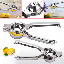 Lemon Lime Squeezer Juicer Stainless Steel Kitchen Home Manual Hand Press Tool
