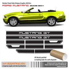Ford Mustang 2005 - 2014 GT Side Rocker Panel Stripes