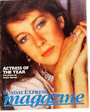 Helen Mirren Bardot Barbara Cartland Sandra Lousada SUNDAY EXPRESS MAGAZINE 1984