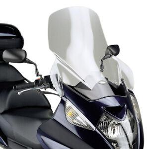 GIVI Kit Parabrezza Trasparente + Attacchi +10cm HONDA Silver Wing 400 2006-2009