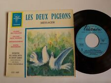 """LES DEUX PIGEONS - ANDRE MESSAGER / SIR CHARLES MACKERRAS 7"""" EP TRIANON 4105 ETC"""
