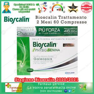Nuovo Bioscalin Physiogenina Trattamento 2 Mesi 60 Compresse Anticaduta