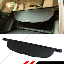 For 2017-18 Honda CR-V CRV OE Style Retractable Cargo Cover Luggage Shade- Black