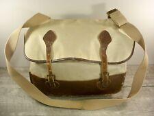 Vintage LL Bean Script Cursive Label Shell Messenger Shoulder Hunting Pack Bag