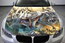 Car Truck Hood Graphics Dragon Vinyl Decal Full Color Sticker Auto Bonnet Wrap