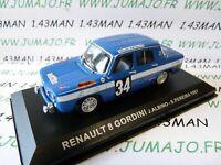 RPT1M 1/43 IXO RALLYE Portugal : RENAULT 8 Gordini #34 Albino/Pereira 1967