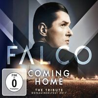FALCO - FALCO COMING HOME-THE TRIBUTE DONAUINSELFEST 2017  CD+DVD NEW!