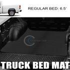 Fit 99-07 Silveradosierra 6.5 Ft Horizontal Style Rubber Truck Bed Mat Liner V2