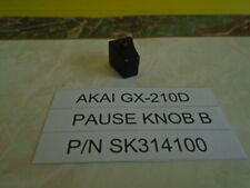 Akai GX-210D Reel To Reel Pause Knob B Used