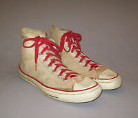 Old Vtg 1960s Converse Chuck Taylor All Star Size 10 Tennis Shoes Black Label