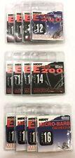 Middy E200 Hooks Bundle - 12 Packs - Sizes 12, 14 & 16