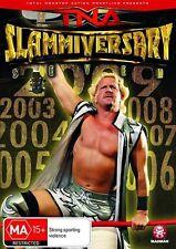 TNA SLAMMIVERSARY 7 - 2009 (Mick FOLEY Jeff JARRETT) Wrestling DVD NEW Region 4