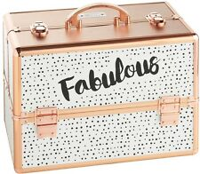 Large Fabulous Dotty Print Beauty Case For Cosmetics Make Up