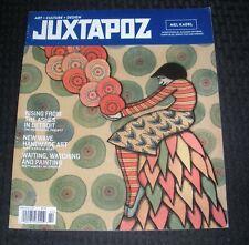2014 Feb JUXTAPOZ Magazine #157 FVF 7.0 Mel Kadel Detroit Heidelberg Olek Brett