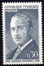 Timbre France Neuf 1962 n° 1329 TTBE** Anniversaire naissance Maurice Bourdet