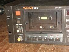 Tascam 238 Syncaset, 90 Day Warranty Multi Track Cassette Recorder Pro Refurbed