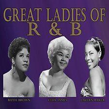 James / Brown / Baker - Great Ladies of R&B [New CD]