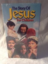 Story of Jesus for Children (VHS, 2000, Tapeworm Studios)