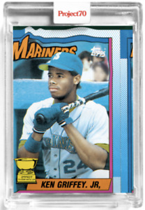 2021 Topps Project 70 Card 6 - 1990 Ken Griffey Jr. by Bobby Hundreds Presale